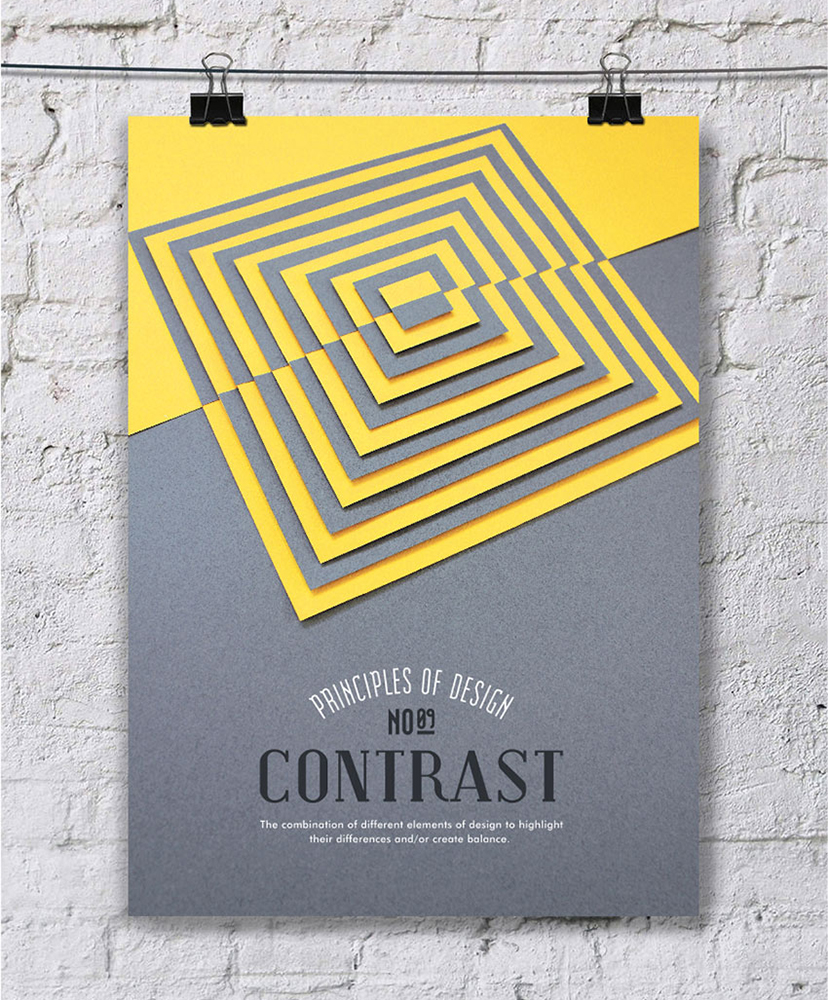 Elements And Principles Of Design Contrast : Design principles fundamentals to guide your work