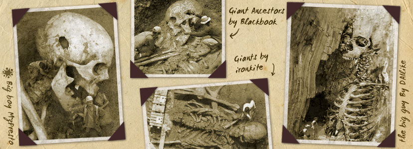 Giant Skeletons Seem Too Real To Be A Hoax