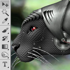 Create A Cyborg Leopard Photoshop Tutorial