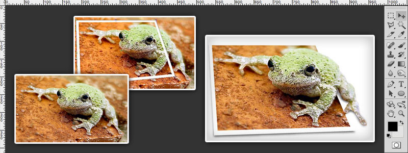 How To Create An Out Of Bounds Image Photoshop Tutorial
