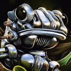 Create A Robotic Frog Photoshop Tutorial