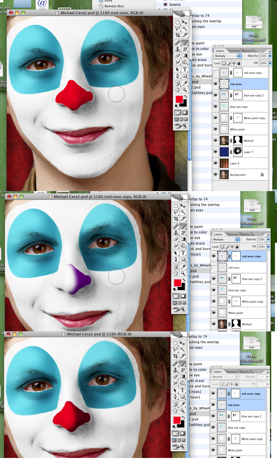 how to send to back in gimp the layer