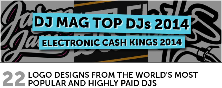 22 Logo Designs from the World's Most Popular and Highly Paid DJs