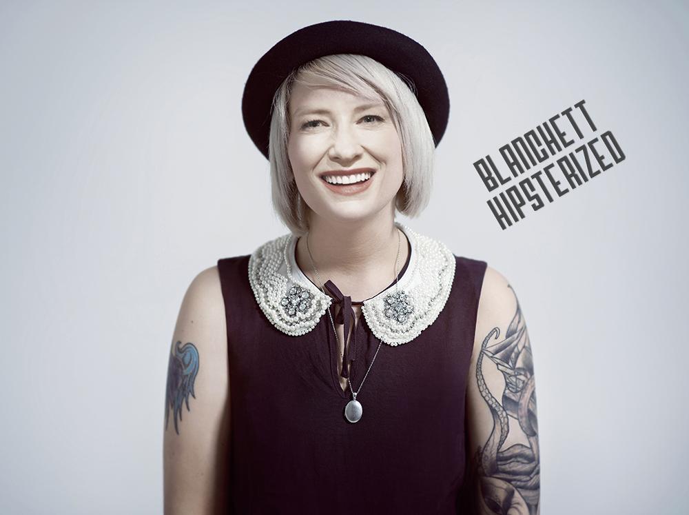 Cate Blanchett hipster
