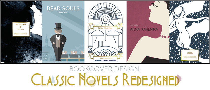 Classic Book Cover Designs : Book cover design famous novels re imagined