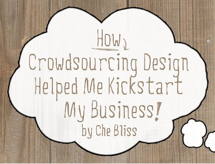 How Crowdsourcing Design Helped Me to Kickstart My Business