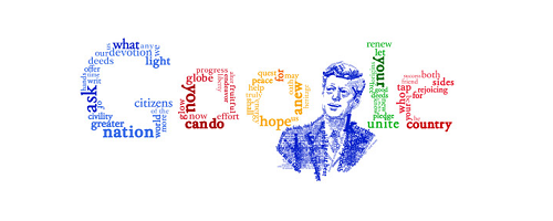 Google Logo Doodle 50th Anniversary of JFK's Inaugural - (US)