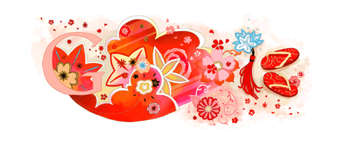 Google Logo Coming of Age Day - (Japan)