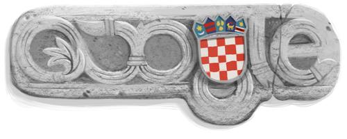 Google Logo Doodle CroatiaIndDay