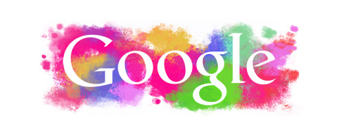 Google Logo Holi 2011