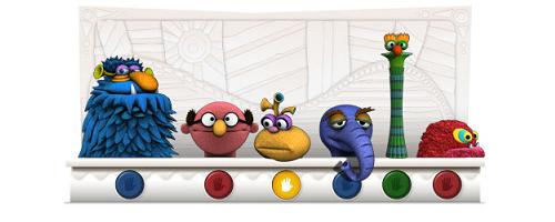 Google Logo Jim Henson Muppets