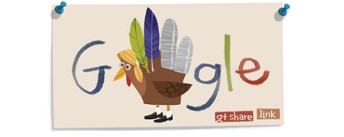 Google Logo ThanksGiving 2011