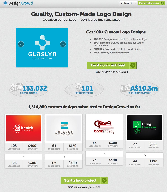 Logo Bids How Logo Design Bids Work On Designcrowd