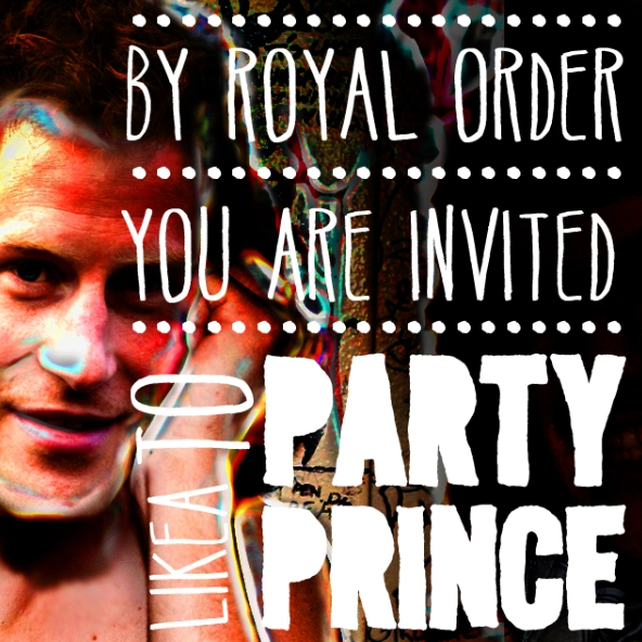 Prince Harry's 30th Birthday Party Flyer Design Contest