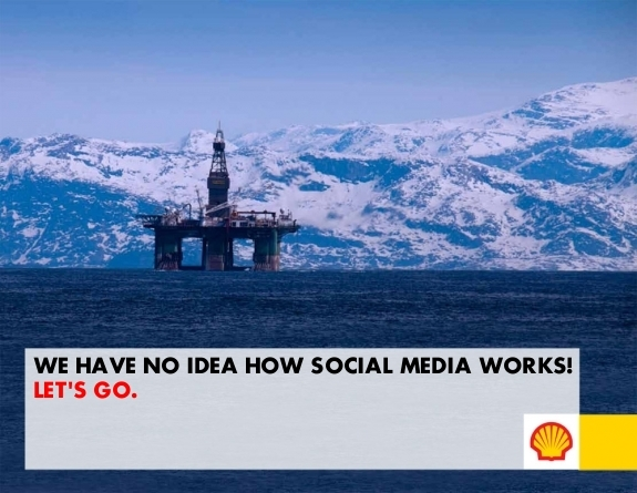 Example Shell Oil Crowdsourced Advertisement