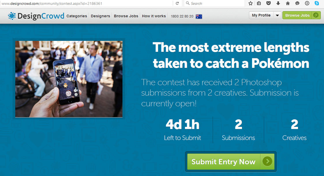 How do I submit to an open community contest? | DesignCrowd
